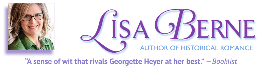 Welcome to the website of Lisa Berne, author of historical romance