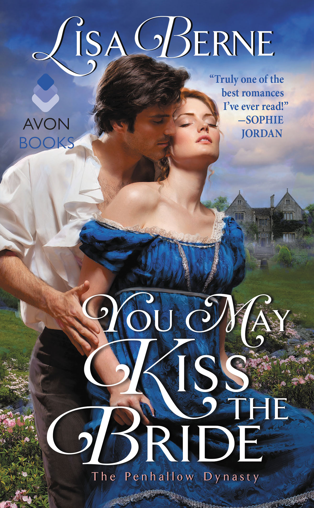 Romance Book Cover Quote ~ You may kiss the bride lisa berne