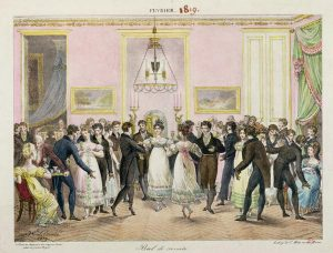 A Regency-era ball