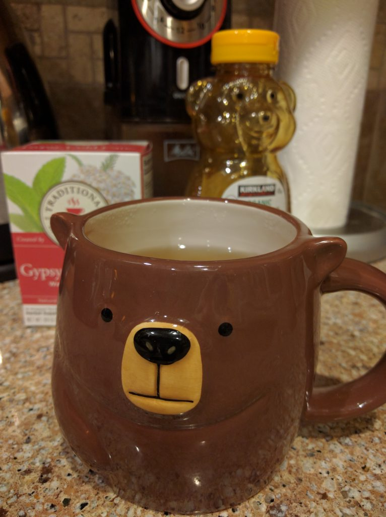 "Photo: a cute ""bear"" mug"