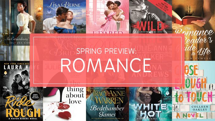 "Graphic: ""Love in Bloom: Spring 2017's Must-Read Romances"" via Bookish"