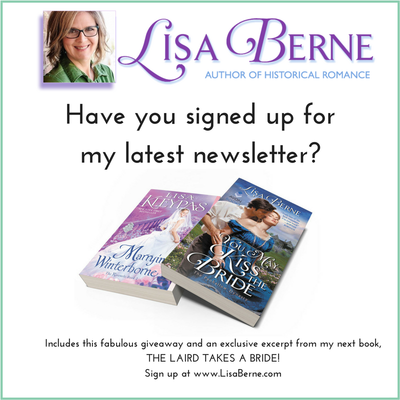 Graphic: Have you signed up for my latest newsletter? via Lisa Berne, www.LisaBerne.com