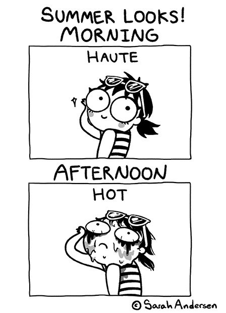 "Illustration: ""Summer Looks"" by Sarah Andersen"