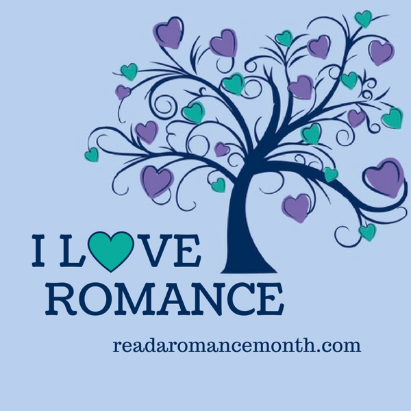 Graphic: Read a Romance Month logo