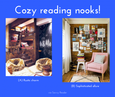 Graphic: Cozy reading nooks, via Savvy Reader