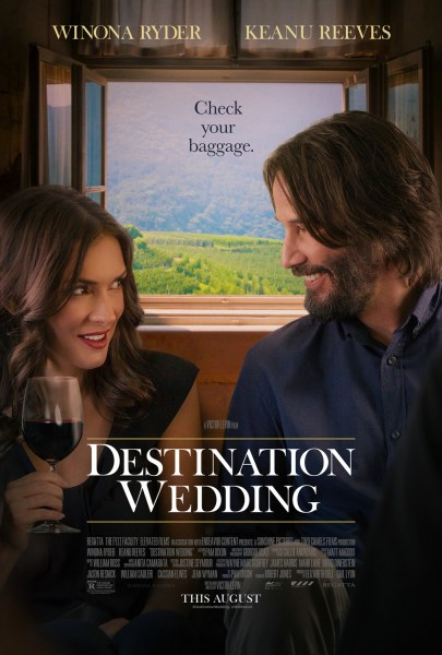 Image: Destination Wedding starring Keanu Reeves and Wynona Ryder