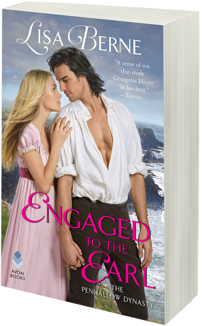 Image: Engaged to the Earl by Lisa Berne (Avon Books)