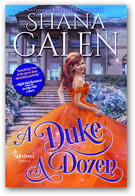 Cover for Shana Galen's A Duke a Dozen