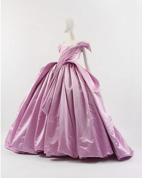 Photo: a ballgown by Vivienne Westwood, shared via LisaBerne.com