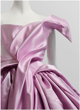 Photo: detail: a ballgown by Vivienne Westwood, shared via LisaBerne.com