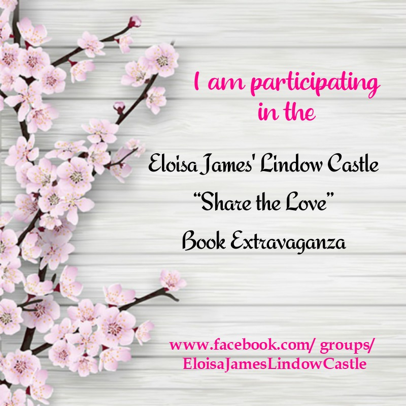 "Graphic: Eloisa James's Lindow Castle ""Share the Love"" Book Extravaganza"