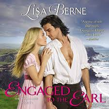 Image: audiobook cover for Engaged to the Earl by Lisa Berne (Avon Books)