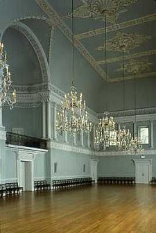 A photo of the Upper Assembly Rooms in Bath, England. Via the blog Jane Austen's World.