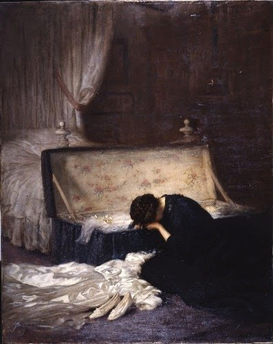 """The Wedding Dress"" by Frederick William Elwell, 1911."