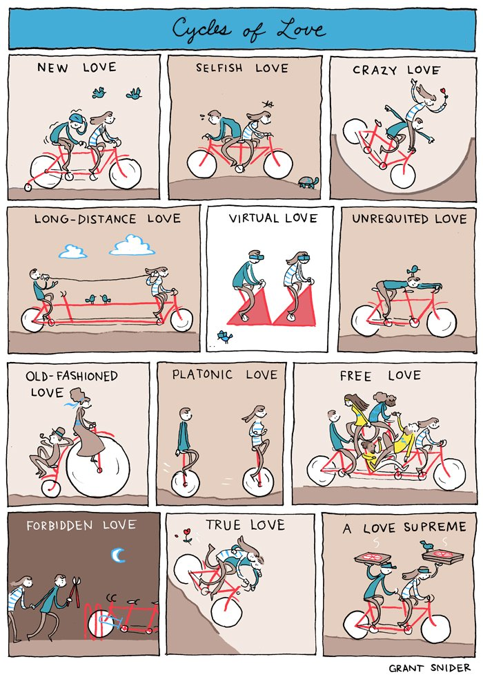 "Comic: ""Cycles of Love"" by Grant Snider"