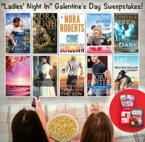 Infographic: Galentine's Day sweepstakes hosted by Heroes and Heartbreakers, featuring You May Kiss the Bride (Avon Books, April 2017) by Lisa Berne