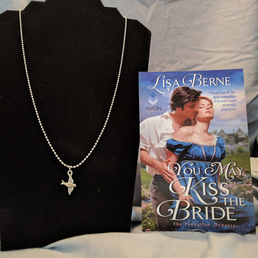 photo: gift with purchase: You May Kiss the Bride by Lisa Berne (Avon Books), available through the Ripped Bodice bookstore