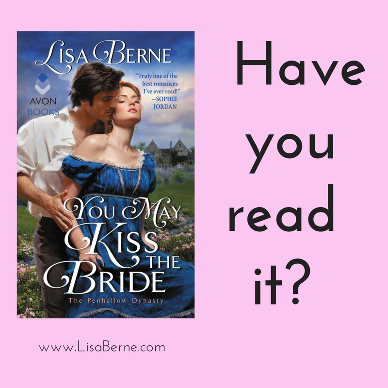 Have you read You May Kiss the Bride? (by Lisa Berne, Avon Books)