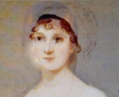 "Image: A speculative ""spontaneous composite portrait"" of Jane Austen by Lance Bertelsen, Iris Howard Regents Professor in English, University of Texas at Austin."