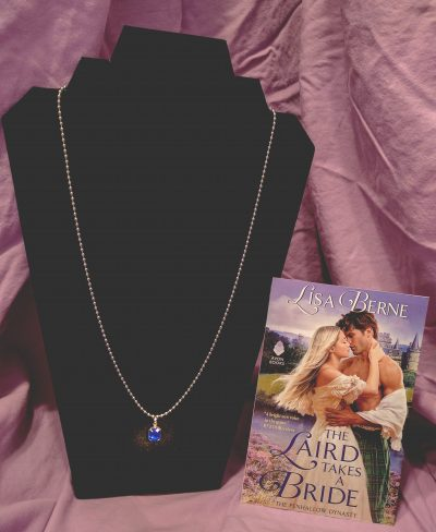 Photo: gift with purchase: The Laird Takes a Bride by Lisa Berne (Avon Books)