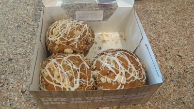 Photo: pumpkin spice muffins via Lisa Berne, www.LisaBerne.com