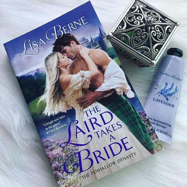 Photo by Smart Bitches Trashy Novels featuring The Laird Takes a Bride by Lisa Berne (Avon Books)