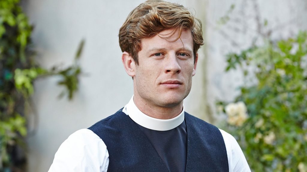 Photo: Grantchester star James Norton