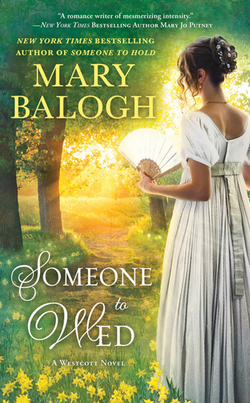 Cover for Someone to Wed by Mary Balogh