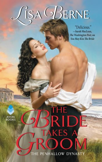Cover for The Bride Takes a Groom by Lisa Berne (Avon Books)