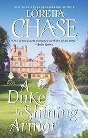Image: the cover for A Duke in Shining Armor by Loretta Chase (Avon Books)