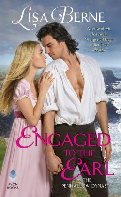 Image: cover for Engaged to the Earl by Lisa Berne (Avon Books)