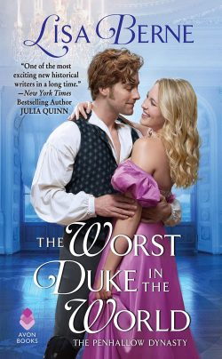 Cover image for The Worst Duke in the World by Lisa Berne (Avon Books)