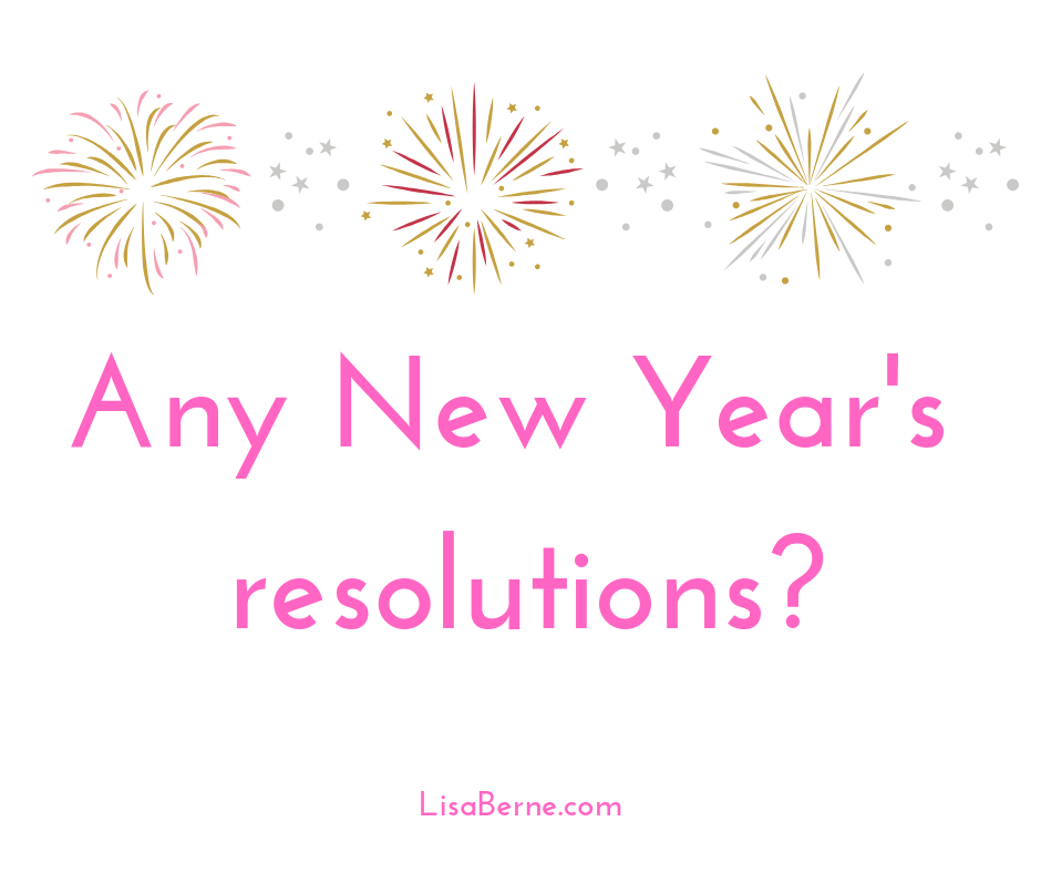 Graphic: Any New Year's resolutions? Via Lisa Berne
