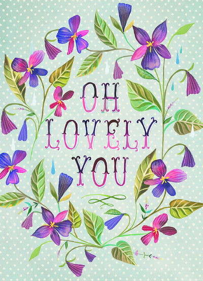 Graphic: Lovely you