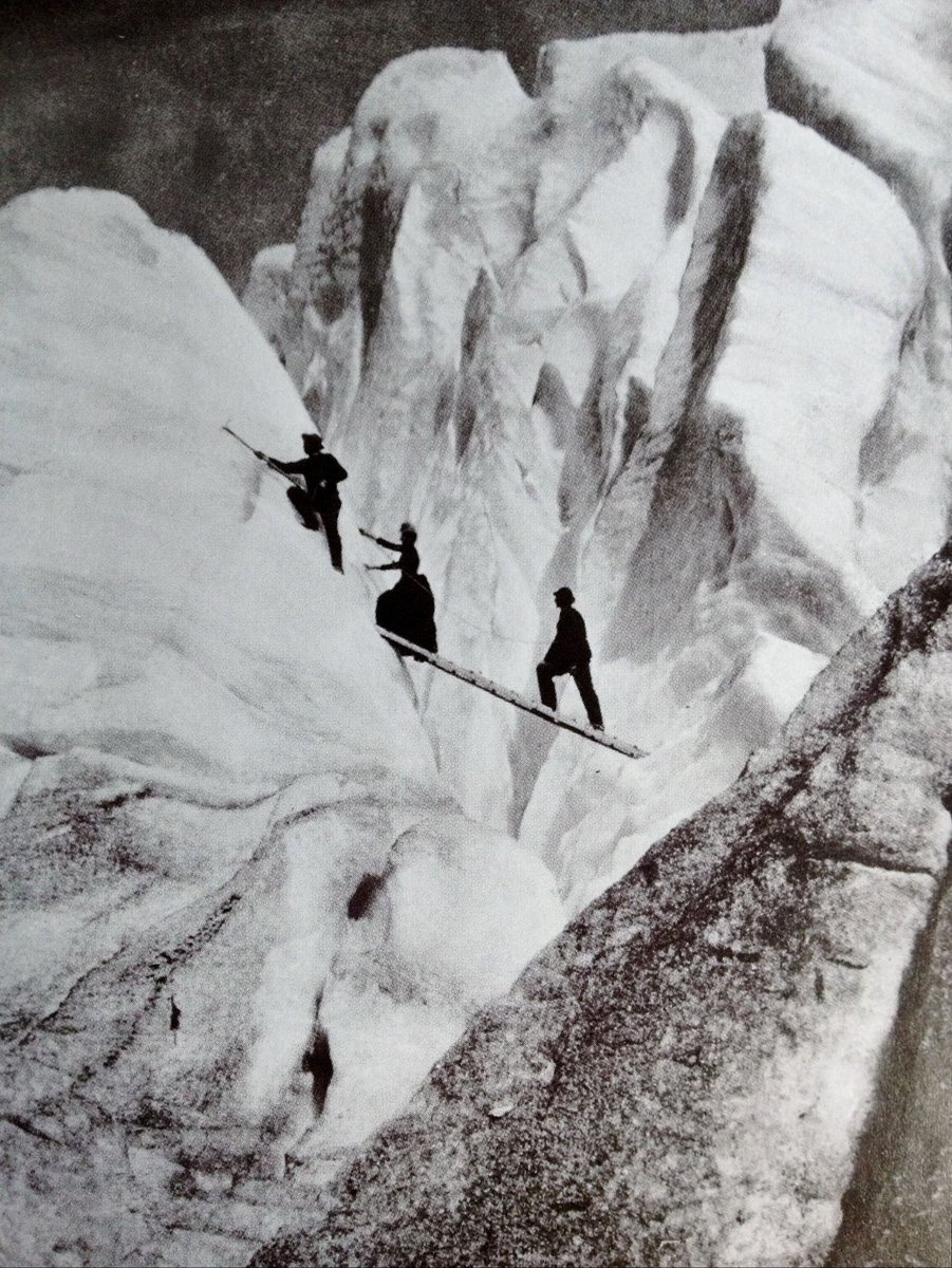 "Photo: ""Late Victorian mountaineers"" via @moodvintage"