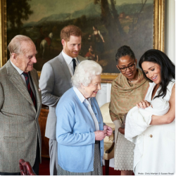 Photo: the new royal baby Archie and family
