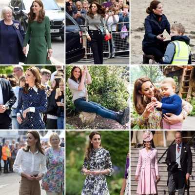 Photo graphic: images of the Duchess of Cambridge