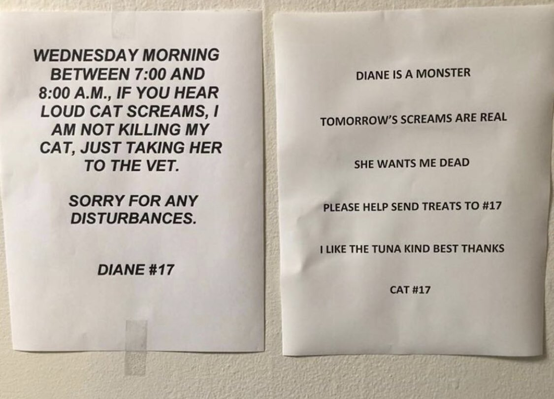 """Graphic: """"Diane is a monster"""""""