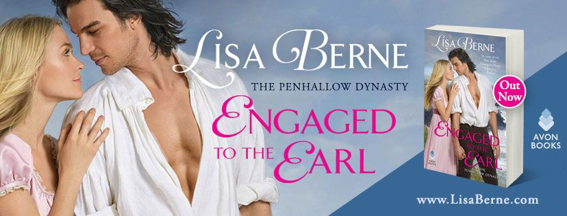 Graphic: Engaged to the Earl by Lisa Berne (Avon Books) - out now
