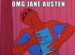 "Graphic: ""OMG Jane Austen,"" shared via LisaBerne.com"