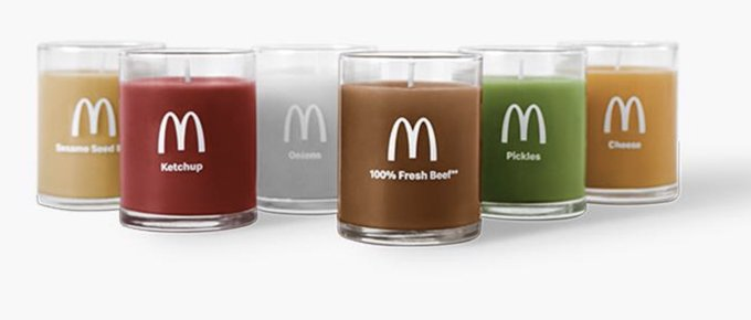 Photo: McDonald's food-scented candles