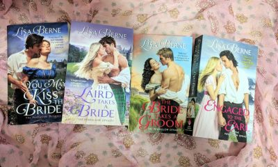 Photo: Penhallow Dynasty series by Lisa Berne (Avon Books)