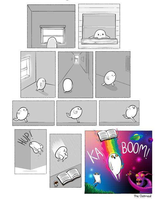 "Comic: ""KABOOM"" by the Oatmeal"