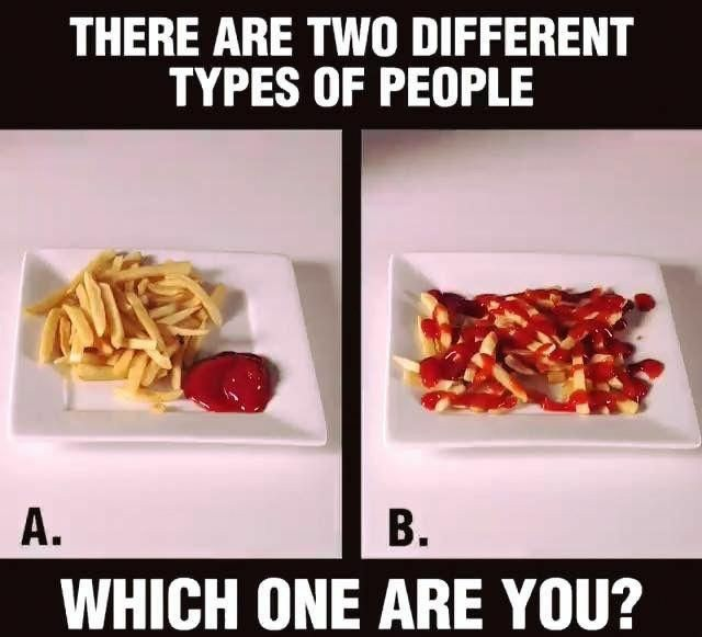 Photo: There are two different types of people, shared via LisaBerne.com