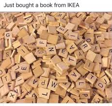 "Graphic: ""Just bought a book from Ikea"""