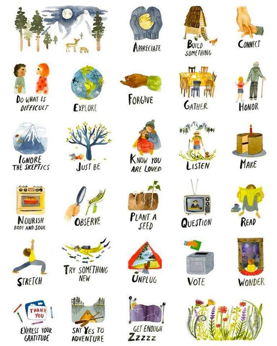 Graphic: the ABCs of life