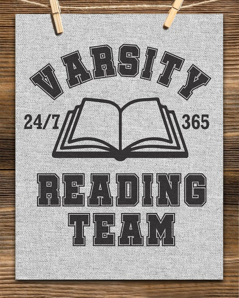 "Graphic: ""Varsity Reading Team"""
