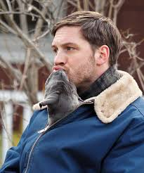 Photo: Tom Hardy with a puppy