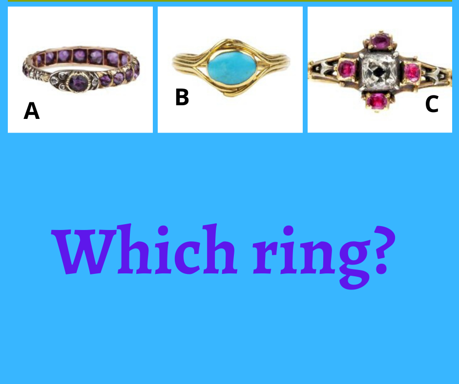 Graphic: Which ring? Shared via LisaBerne.com
