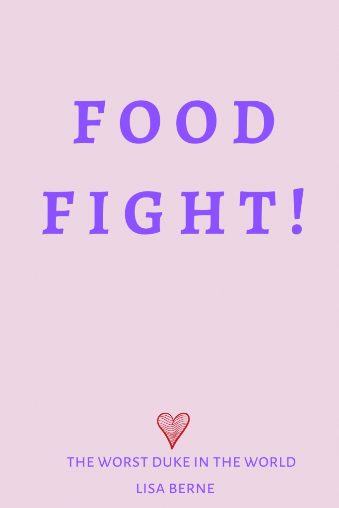 "Graphic: ""Food fight,"" shared via LisaBerne.com"